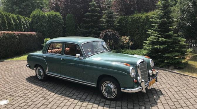 Mercedes 220S W180 II 1958 – 189000PLN – Chorzów