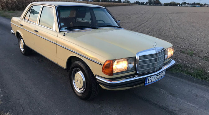 Mercedes 280E W123 1978 – 65000PLN – Łódź