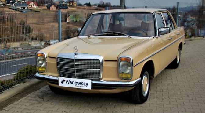 Mercedes 220D W115 1975 – 55000PLN – Gaj
