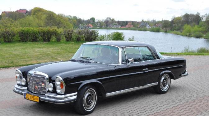 Mercedes 280 SE Coupe W111 1970 – 190000PLN – Juszkowo