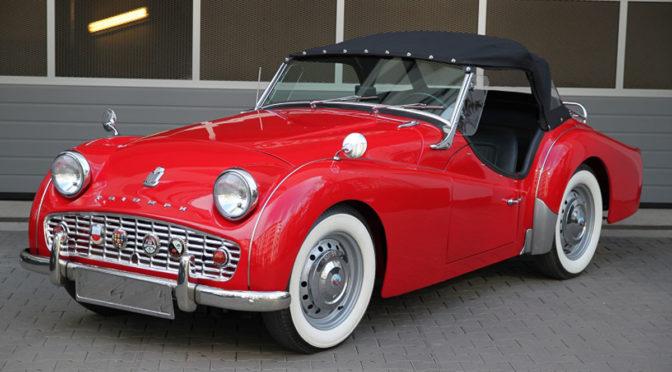 Triumph TR3B 1962 – 182500PLN – Warszawa