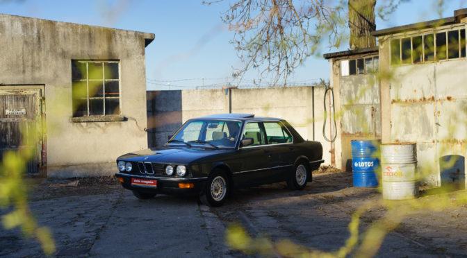 BMW 525e E28 1985 – 54500PLN – Poznań