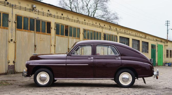 FSO Warszawa M-20 1958 – 110000PLN – Kostrzyn