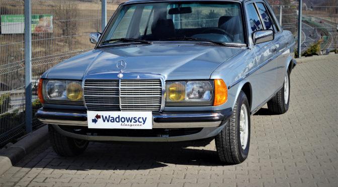 Mercedes 230E W123 1984 – SPRZEDANY