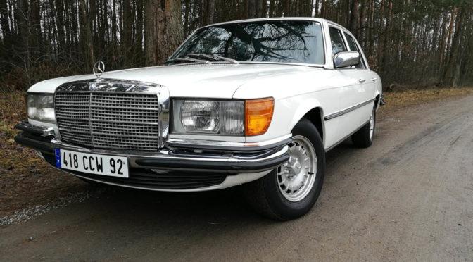 Mercedes 450 SE W116 1976 – 65900PLN – Warszawa
