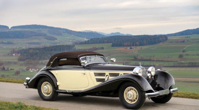 Mercedes 540 K Cabriolet A 1937 – SPRZEDANY