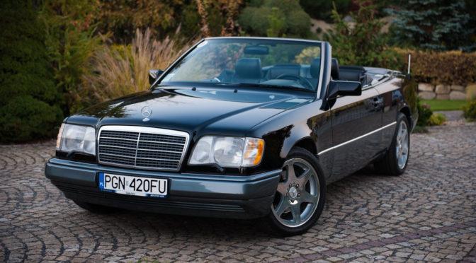 Mercedes E 320 Cabriolet A124 1993 – 72000PLN – Gniezno