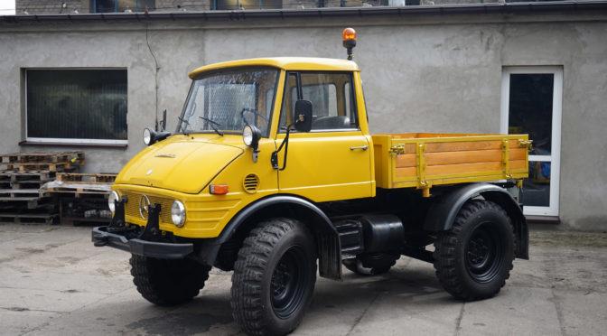 Unimog 421 1977 – SPRZEDANY