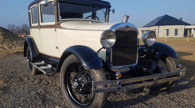 Ford Model A 1928 – 109000 PLN – Tułowice