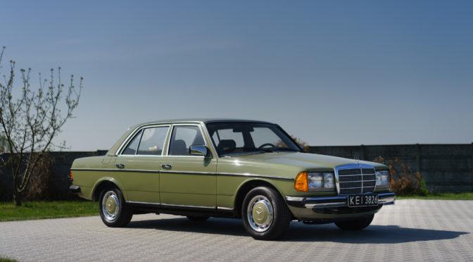 Mercedes 300D W123 1983 – SPRZEDANY