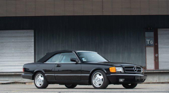 Mercedes 560 SEC Cabriolet 1988 – SPRZEDANY