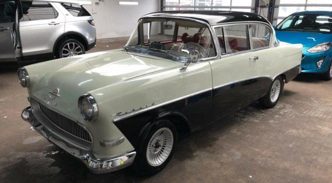 Opel Olympia Rekord P1 1958 – 40000PLN – Legbąd