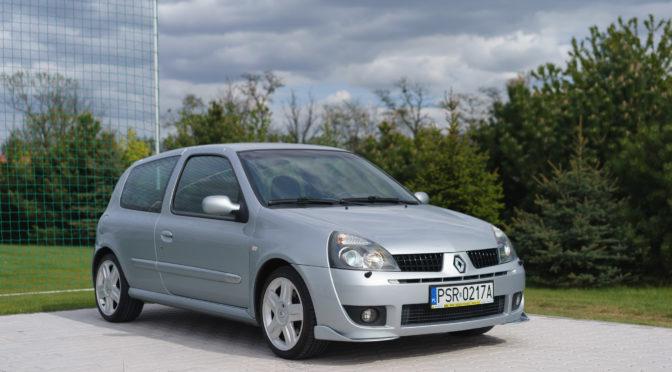 Renault Clio Sport 2002 – SPRZEDANE