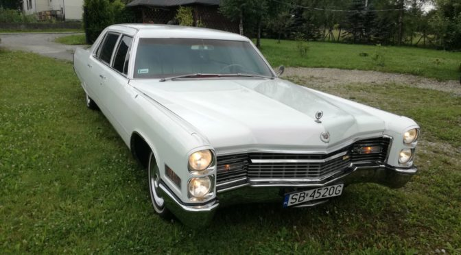 Cadillac Fleetwood Series 75 Limousine 1966 – 60000PLN – Bielsko-Biała