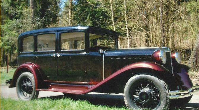 Chrysler Sedan CM-6 1931 – 120000PLN – Olsztyn