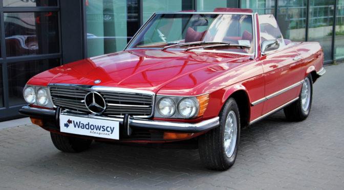 Mercedes 450 SL R107 1972 – SPRZEDANY