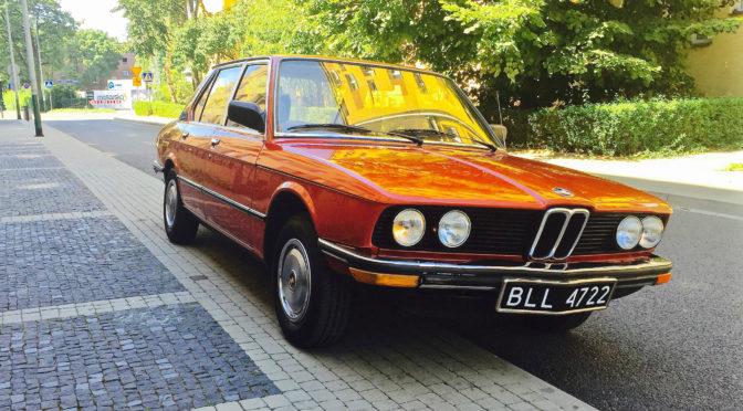BMW 518 E12 1981 – SPRZEDANE
