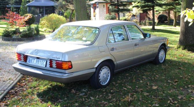 Mercedes 350 SD Turbo W126 1991 – 59500PLN – Tarnów