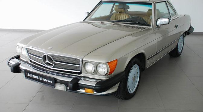 Mercedes 560 SL R107 1988 – SPRZEDANY