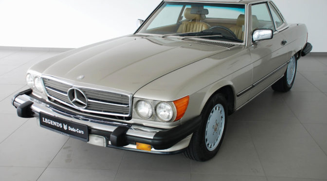 Mercedes 560 SL R107 1988 – 94900PLN – Poznań