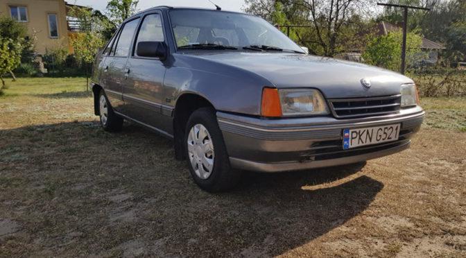 Opel Kadett E 1989 – 2700PLN – Konin