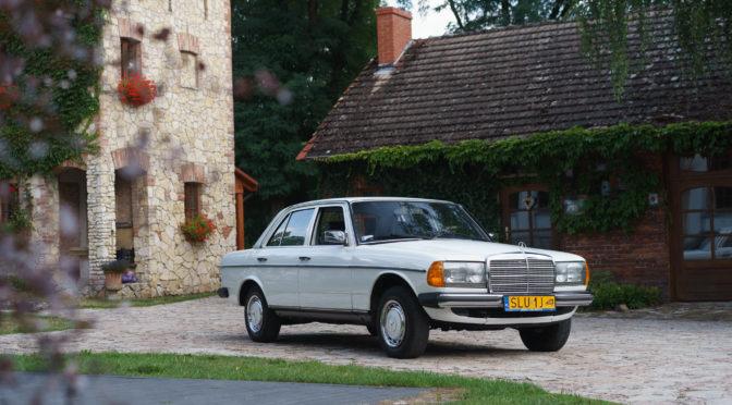 Mercedes 240D W123 1983 – SPRZEDANY