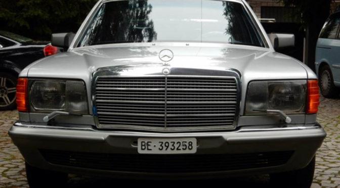 Mercedes 500 SEL W126 1985 – 37000PLN – Węgrzce