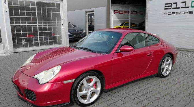 Porsche 911 Carrera 4S 996 2002 – 175000PLN – Krapkowice