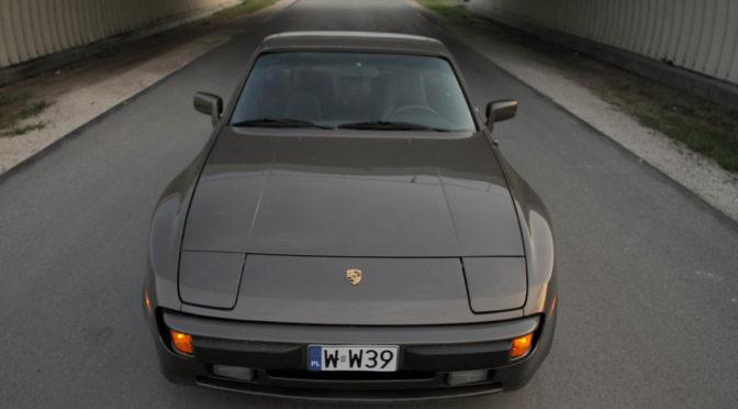 Porsche 944 1984 – 74944PLN – Warszawa