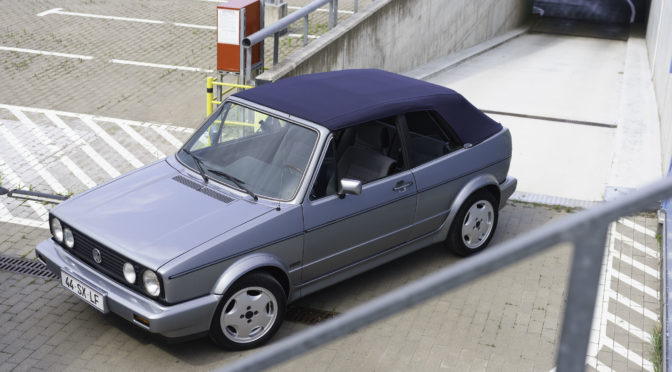 Volkswagen Golf Cabriolet Mk1 1988 – 55000PLN – Poznań