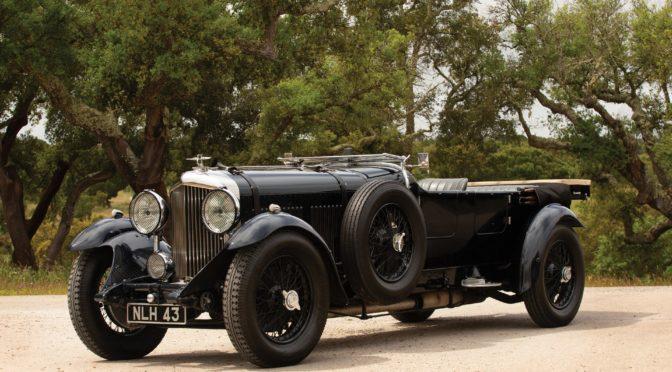 Bentley 8-Litre Tourer 1931 – SPRZEDANY