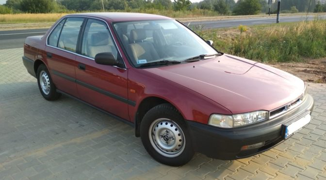 Honda Accord 1990 – 14990PLN – Pabianice