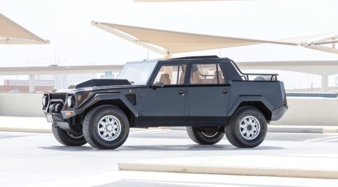 Lamborghini LM002 1990 – UK