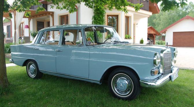 Mercedes 200D W110 1966 – 95000PLN – Bochnia