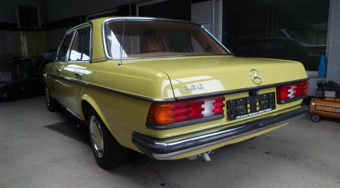 Mercedes 230 W123 1979 – SPRZEDANY
