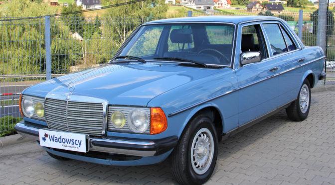 Mercedes 240D W123 1982 – SPRZEDANY