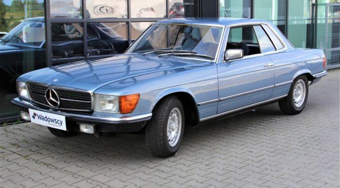 Mercedes 280 SLC C107 1978 – 61000PLN – Gaj