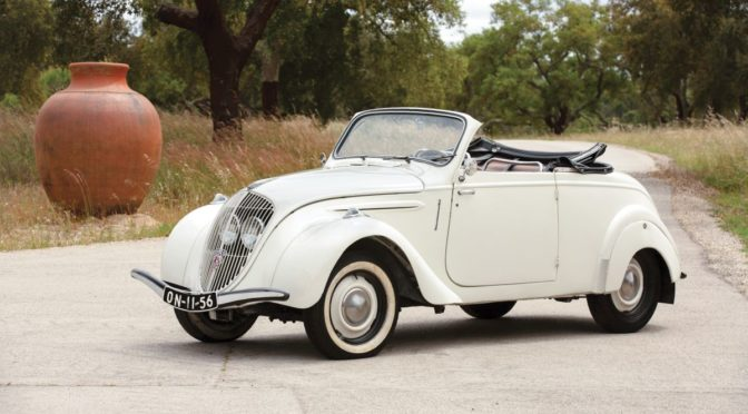 Peugeot 202 BH Cabriolet 1947 – SPRZEDANY