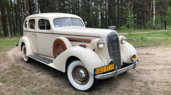 Buick Roadmaster Series Eighty 1936 – 111000PLN – Kościerzyna