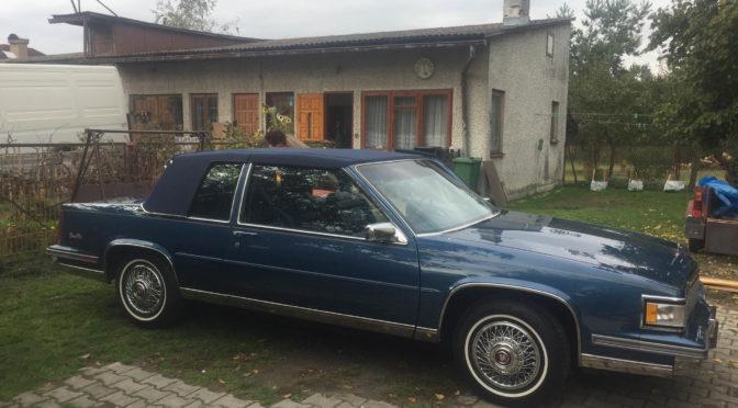 Cadillac Coupe de Ville 1988 – 189000PLN – Gościeradów