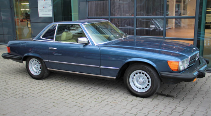 Mercedes 380 SL R107 1981 – 50000PLN – Gaj