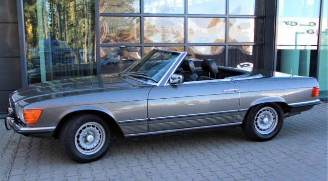 Mercedes 450 SL R107 1980 – 98000PLN – Gaj