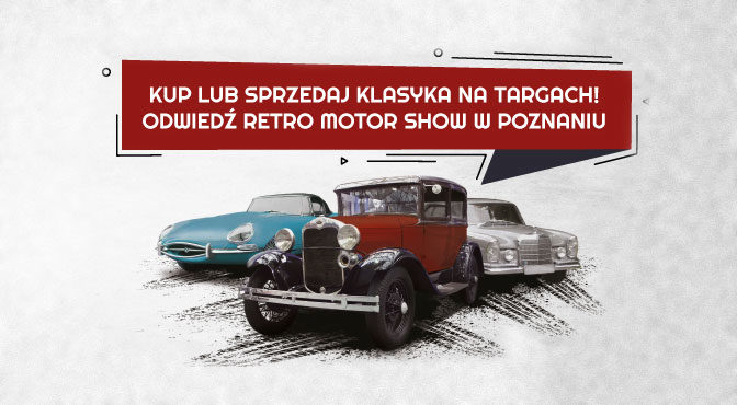 Giełda Klasyków na Retro Motor Show 2019 – zapraszamy!