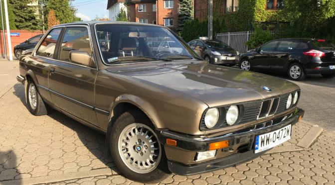 BMW 320i E30 1984 – 19500PLN – Warszawa