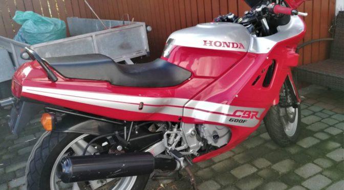 Honda CBR 600 F1 1987 – SPRZEDANA