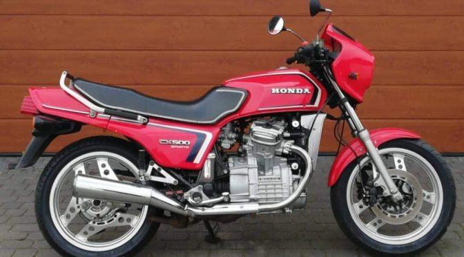 Honda CX500EC Sports 1983 – 8500PLN – Toruń