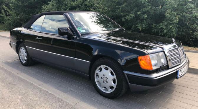 Mercedes 300 CE-24 Cabriolet A124 1993 – 69900PLN – Szczecin