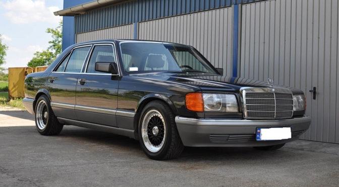 Mercedes 500 SE W126 1987 – 99000PLN – Jarocin