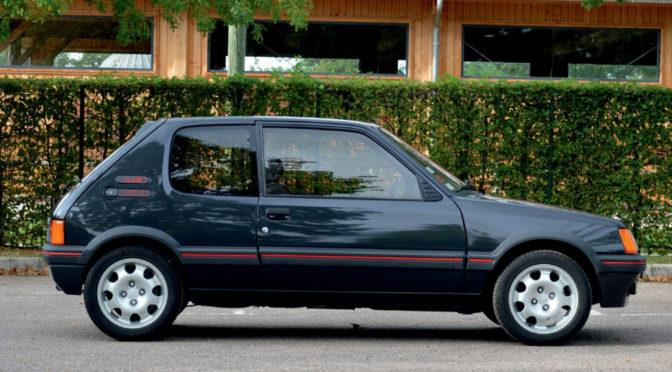 Peugeot 205 GTI 1.9 1987 – SPRZEDANY