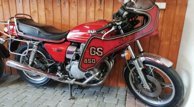 Suzuki GS 850 1979 – 9700PLN – Toruń